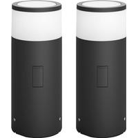 Philips Hue Calla Sokkellamp Buiten Starter Duo Pack