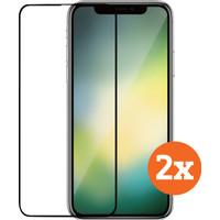 Azuri Case Friendly Apple iPhone 11 / Xr Screenprotector Glas Duo Pack