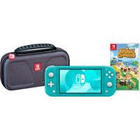 Game onderweg pakket - Nintendo Switch Lite Turquoise