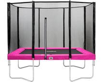 Salta Rectangular with Safety Net 153x214cm Pink
