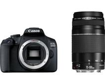 Canon EOS 2000D + 18-55mm IS II + 75-300mm III