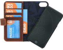 Decoded Wallet Apple iPhone SE 2 / 8 / 7 / 6 / 6s 2-in-1 Case Leer Bruin