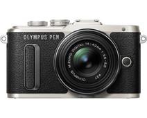 Olympus PEN E-PL8 Zwart + 14-42mm EZ