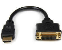 StarTech HDMI to DVI-D Video Adapter Cable 20cm