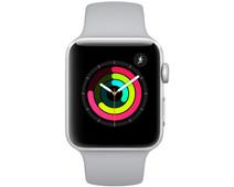 Apple Watch Series 3 38mm Silver Aluminum/Gray Sport Band