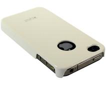 Xqisit iPlate Glossy White Apple iPhone 4