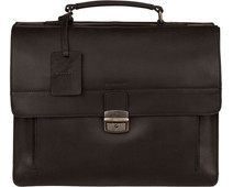 Burkely Vintage Scott Briefcase 2-Comp - Black