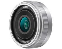 Panasonic Lumix G 14mm f/2.5 II ASPH. Silver