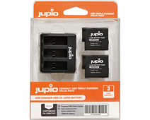 Jupio Kit: Battery GoPro HERO8/7/6/5 & HERO (2018) accu (2x)