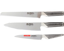Global G9211 Knife set (3-piece)