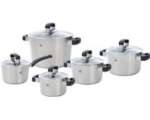 BK Conical Cool Glass Cookware Set 5-piece