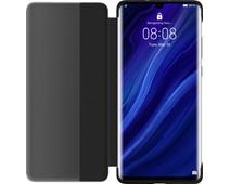 Huawei P30 Pro View Flip Cover Book Case Black