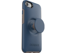 Otterbox Otter + Pop Symmetry Apple iPhone SE 2/8/7/6s/6 Back Cover Blue