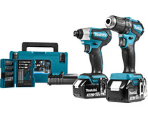 Makita DLX2220JX2 Combi Set