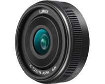 Panasonic Lumix G 14mm f/2.5 II ASPH. Zwart