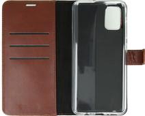 Valenta Samsung Galaxy A51 Book Case Leather Brown