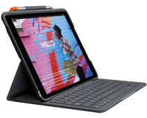 Logitech Slim Folio Apple iPad (2020)/(2019) Toetsenbord Hoes QWERTY