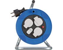 Brennenstuhl Garant Compact Kabelhaspel met usb 15m