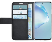 Azuri Wallet Samsung Galaxy S20 Book Case Zwart