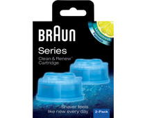Braun Clean & Renew Cleaning Solution cartridges (2 units)
