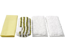 Karcher Microfibre Cloth set Bathroom