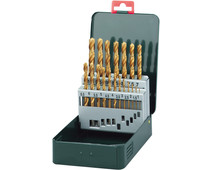 Metabo 19-piece HSS-TiN Borenset