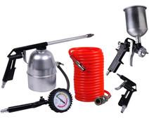Ferm Compressor Air tool set (5-piece)