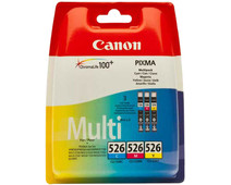 Canon CLI-526 Cartridges Combo Pack