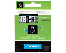 Dymo D1 Name Labels Black-White (24mm x 7 m)