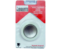 Bialetti Filter Plate + Rubber Ring 3 cups