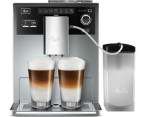 Melitta Caffeo CI Silver with milk container