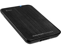 Sharkoon QuickStore Portable USB 3.0 2.5-Inch Black
