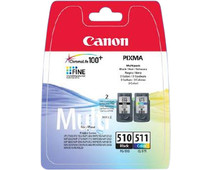 Canon PG-510/CL-511 Cartridges Combo Pack