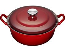 Le Creuset Faitout Dutch Oven 24cm Cherry Red