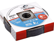 Kreator Metal cutting disc 115 mm 6 pieces