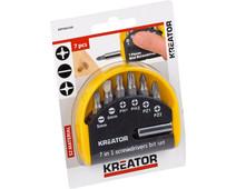Kreator Drill Bit Set 7 Pieces Pz/Sl/Ph