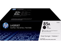 HP 85A Toner Cartridges Black Duo Pack