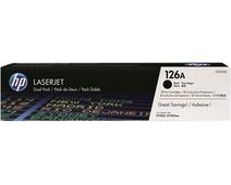 HP 126A Toner Cartridges Black Duo Pack