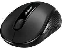 Microsoft Wireless Mobile Mouse 4000 Zwart