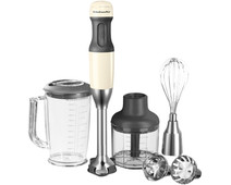 KitchenAid Immersion Blender Set Almond White