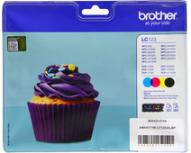 Brother LC-123 Color Value Pack (BCMY) LC-123VALBP