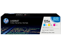 HP 125A Toner Cartridges Combo Pack