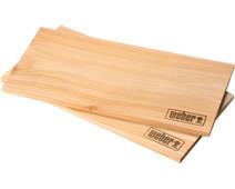 Weber Cedar Wooden Smoking Board Large (2 pieces)