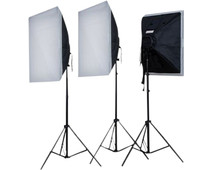 Falcon Eyes Continuous Light Set LH-ESB5050K3 3x55W