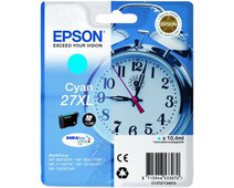 Epson 27XL Cartridge Cyaan