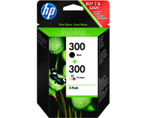 HP 300 Cartridge Black + Combo Pack Tri-color (CN637EE)