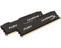 Kingston HyperX FURY 16GB DDR3 DIMM 1600 MHz Zwart (2x8GB)