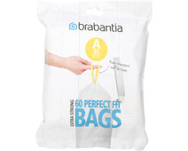 Brabantia Vuilniszakken Code A - 3 Liter (60 stuks)