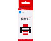 Pixeljet CLI-551XL Cyan for Canon printers (6444B001)