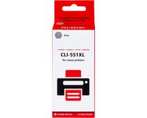 Pixeljet CLI-551 XL Gray for Canon printers (6447B001)